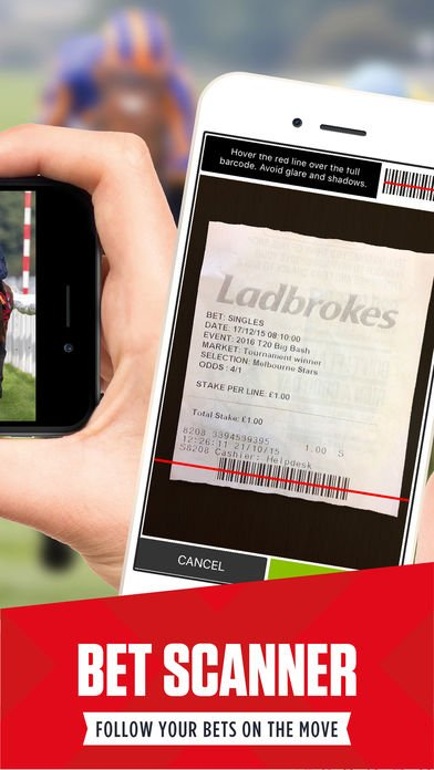 mobile application review Ladbrokes